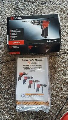 """Chicago Pneumatic CP9285 3/8"""" (10 mm) Reversible Pistol Drill"""