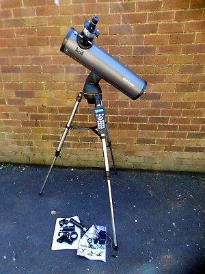 A Good Clean Celestron Nexstar 130Slt Reflecting Telescope With Lense,adapter