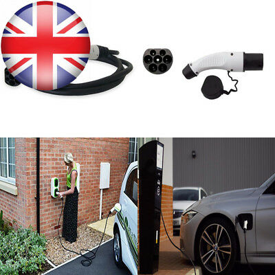 EV / Electric Car - Charging Cable Type 2 to   16 Amp 5 Meter