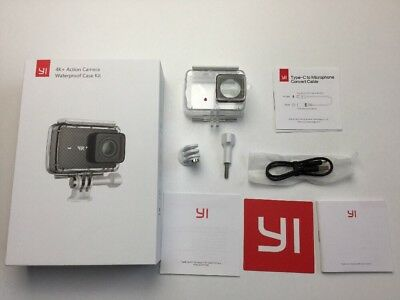 Genuine Waterproof Case For Yi 4K+ Yi Lite & Discovery Action Camera & Box & USB