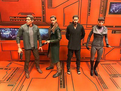NECA Blade Runner 2049 Lot of 4 Figures Officer K, Deckard, Luv, Wallace
