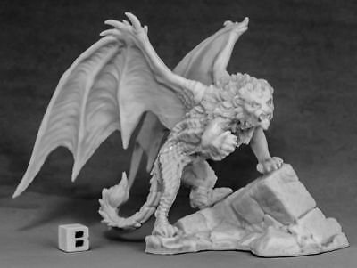 1 x MANTICORE - BONES REAPER figurine miniature rpg d&d winged lion 77577