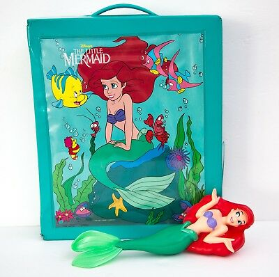 The Little Mermaid Ariel Doll Clothes Wardrobe Vinyl Carrying Case