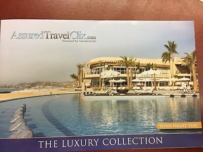 7 Night 4 to 5 Star Resort Voucher (Cancun, Cabo, Acapulco, & more - you choose)
