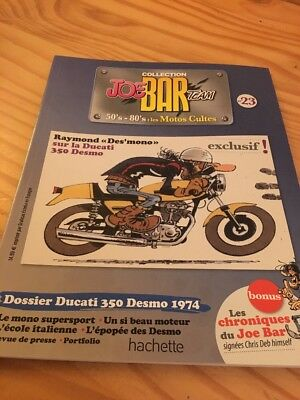 Joe Bar Team n° 23  collection moto revue magazine 50's 80's les motos cultes
