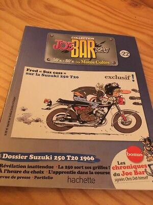 Joe Bar Team n° 22  collection moto revue magazine 50's 80's les motos cultes