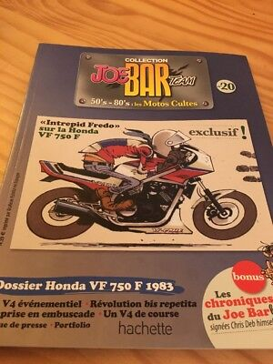 Joe Bar Team n° 20  collection moto revue magazine 50's 80's les motos cultes