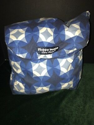 Floppy Seat Ultra Plush Shopping Cart & High Chair Cover, Grocery Cart Blue