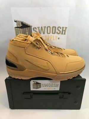 559b5c0ac182 Nike Air Zoom Generation ASG QS Size 15 Wheat Gold AQ0110 700 Lebron Retro  NIB