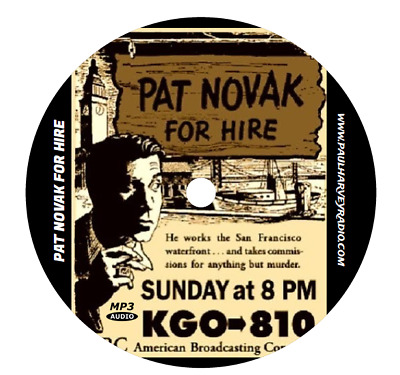 Pat Novak For Hire (25 Shows) Old Time Radio Mp3 Cd