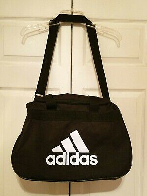 8dccb23d45 ADIDAS BLACK SPORT Tote Exercise Gym Overnight Duffle Bag -  19.95 ...