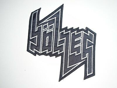 Bolzer Black/death Metal Embroidered Patch