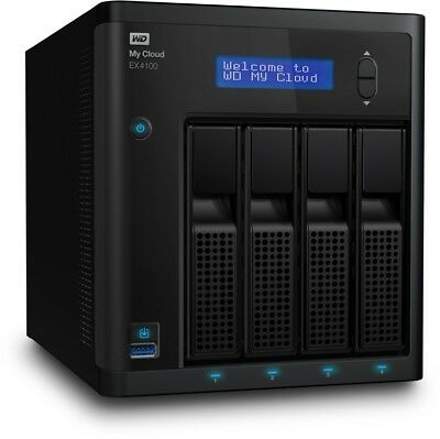"WD 3.5"" My Cloud EX4100 4-Bay 16TB NAS Storage w/4x4TB RED HDD"