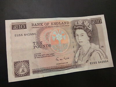 10 Pounds Sterling England 10 Gbp = $18.0273Aud