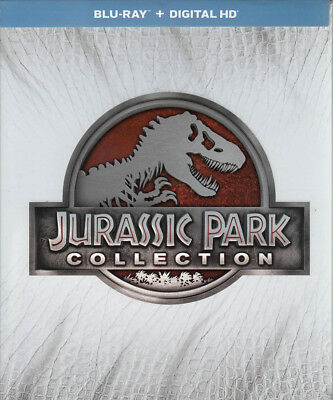 Jurassic Park Collection (bilingue) (Blu-Ray) NUOVO Blu