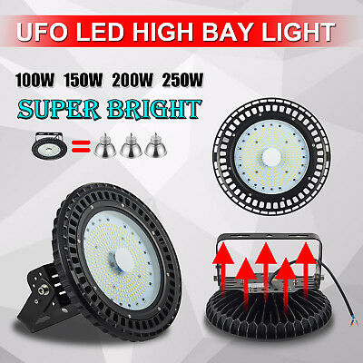UFO LED High Bay Lights 100W 150W 200W 250W Warehouse Industrial Factory Lamp AU