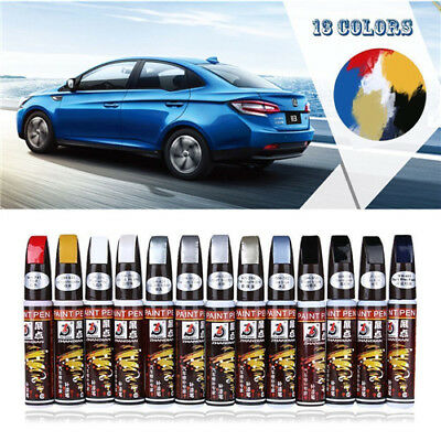 Clear Repair Car Auto Coat Scratch Paint Pen Touch Up Remover Applicator Tools