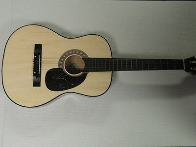 Alice Cooper Signed Full Size Natural Acoustic Guitar Alice N Chains Coa Rare