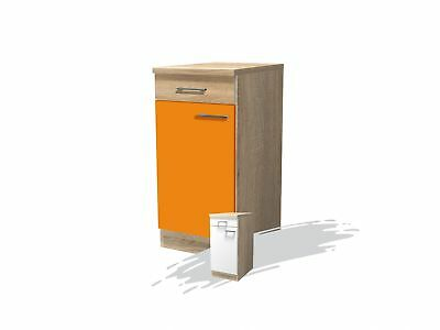 herdschrank rom backofenschrank herdumbauschrank 60 cm orange sonoma weiss eur 44 99. Black Bedroom Furniture Sets. Home Design Ideas