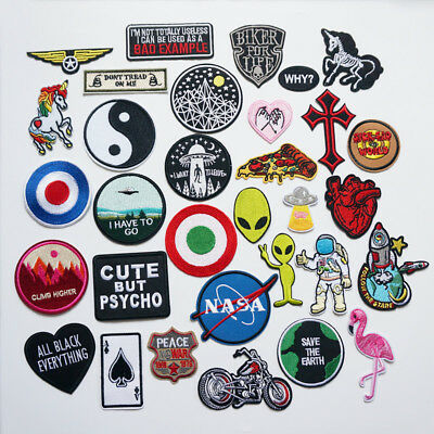 Embroidered Feminist Patch Sew Iron on Patches Badges Bags Hat Jeans Applique