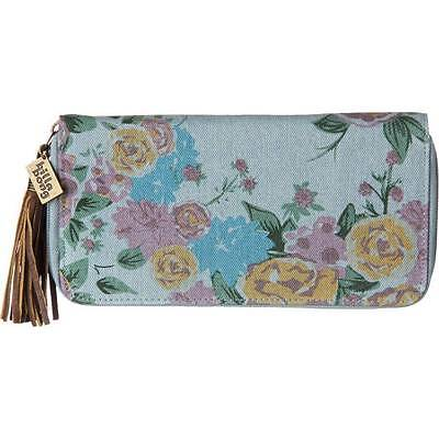 BILLABONG New Ladies Zip Around Purse Wallet Floral