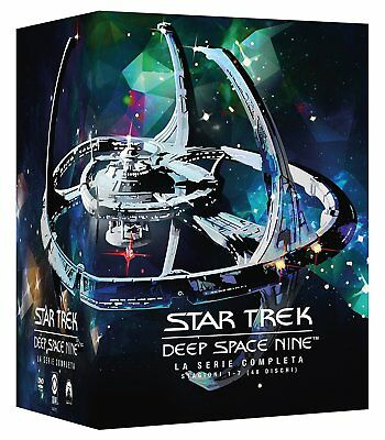 Star Trek Deep Space Nine DS9 Staffel 1 2 3 4 5 6 7, 48 DVD Box, NEU & OVP