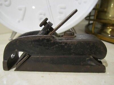 Vintage Collectible Bullnose miniature planer