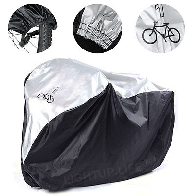 Universal Funda Cubierta Impermeable para Bicicleta Proteger Lluvia Sol Nieves