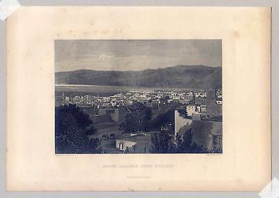 Beirut - Libanon - Beyrout - Stahlstich 1865