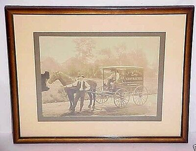 Antique Photo Jackson Electrical Contractor Long Branch Nj - 514 Broadway Framed