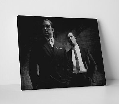 The Kray Twins London Gangsters Canvas Wall Art Picture Print  50x76cm