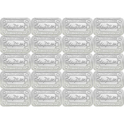 SilverTowne Money Bars 1oz .999 Silver Bar 20pc