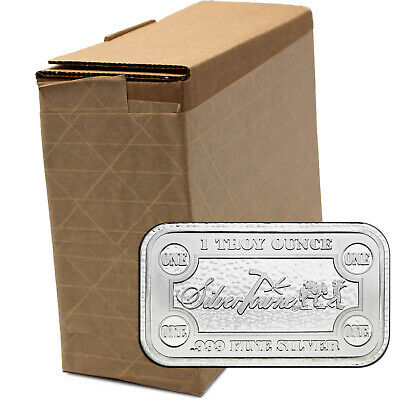 SilverTowne Money Bars 1oz .999 Silver Bar 100pc