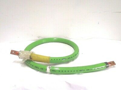 LEONI 500-MCM X 9 Water Cooled Robot Cable Made in USA Reinforced Ends