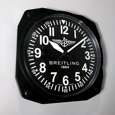Breitling Aviators Instrument Cockpit Wall Clock Display