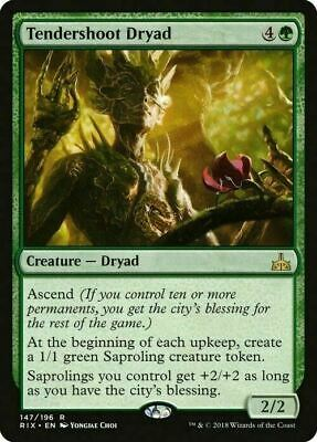 Tendershoot Dryad ~ Rivals of Ixalan ~ MINT/NearMint ~ MTG