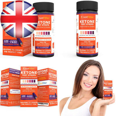 Just Fitter Ketone Test Strips. Lose Weight, Look and Feel Fabulous on a Low...