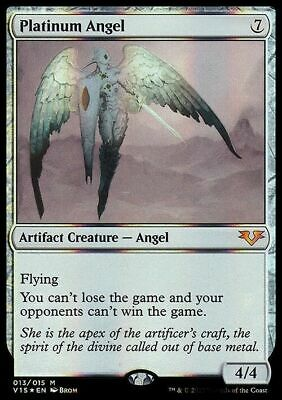 FOIL Platinum Angel ~ From the Vault: Angels ~ NearMint ~ Magic The Gathering