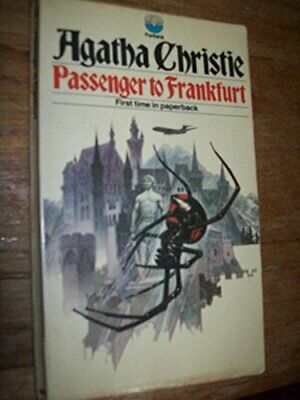 Passenger to Frankfurt by Agatha Christe Book The Cheap Fast Free Post