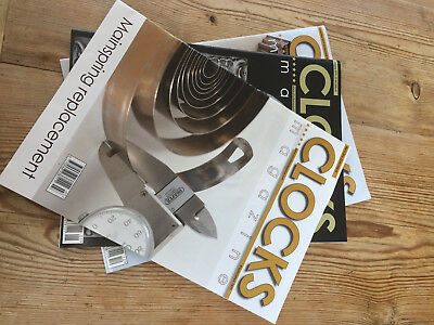 Library of Bound Clock Magazines 1979 - 2006, 2009 - 2010, 2014 - 215 2017, 2018
