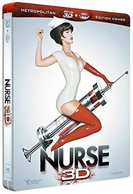 Steelbook Combo Blu-Ray 3D + Blu-Ray + DVD  //   NURSE 3D  //  NEUF cellophané