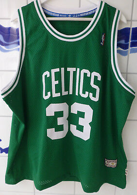 Boston Celtics, 33 Larry Bird NBA-Trikot Herren, Gr. XXL