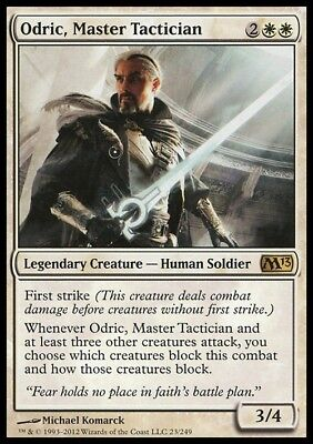 Odric, Master Tactician ~ Magic 2013 ~ NearMint/Excellent+ ~ Magic The Gathering