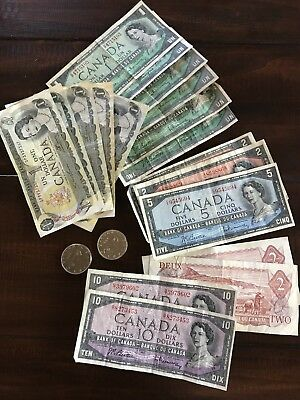 Canadian Currency and Silver Dollars