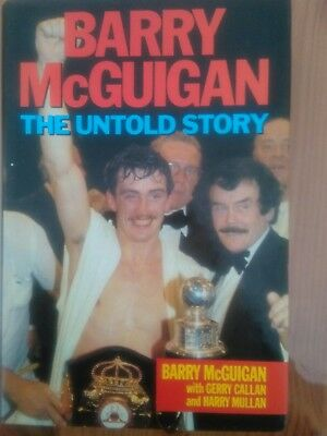 Barry Mcguigan signed biography
