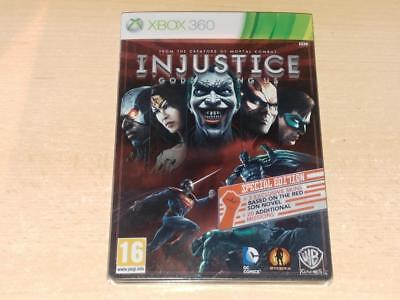 Injustice Gods Among Us Steelbook Limited Special Edition Xbox 360 UK PAL (NM)
