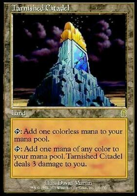 Tarnished Citadel ~ Odyssey ~ Excellent+ ~ Magic The Gathering