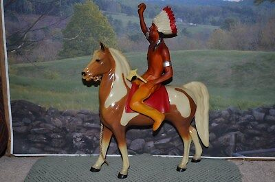 Hartland pinto horse with Indian...L@@K!!