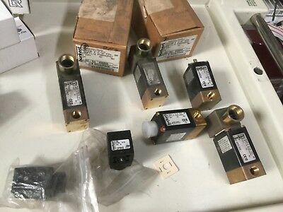 Lot of Burkert Solenoid Valve And Cable Plugs