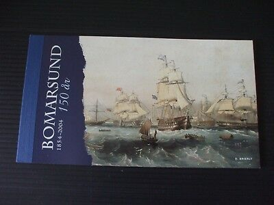 "ALAND - 2004 "" FALL of BOMARSUND FORTRESS  6Euro BOOKLET."" U/Mint. 2 x SG.MS254"